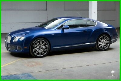 2014 Bentley Continental GT GT Speed 2014 GT Speed Turbo 6L W12 Automatic  AWD