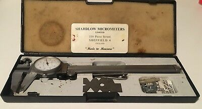 Vernier Height Gauge By Shardlow Micrometer Sheffield In Box