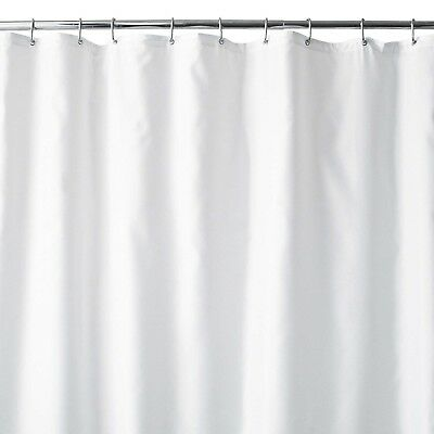 WamsuttaR 70 Inch X 84 Extra Long Fabric Shower Curtain Liner With