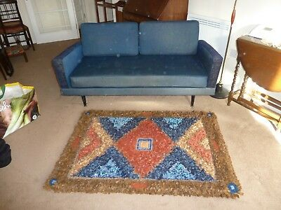 Lewis's G Plan Vintage 1959 Settee-Sofa-Couch converts Day Bed+Original Receipt