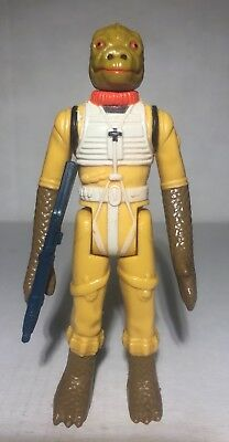 STAR WARS Vintage Figure: BOSSK (Near MINT) & 100% Original Weapon - 1980 ESB
