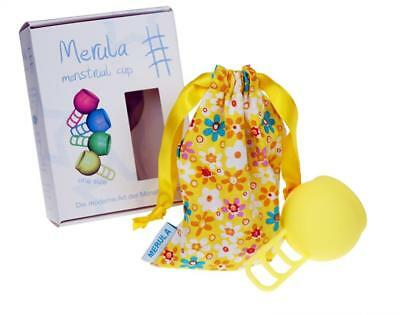 Merula Menstrual Cup sun (yellow) – made of medical-grade silicone
