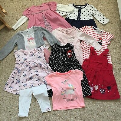 Girls x10 Items Bundle All In 9-12months, Including 5 Disney Items. TAKE A LOOK!