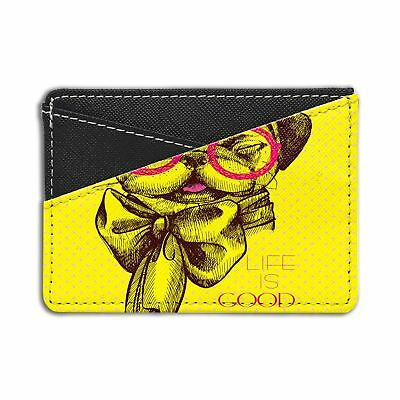 PUG LIFE IS Good Luggage Tag &/OR Passport Holder - S373