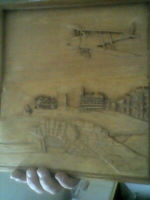 Carved Plaque wooden