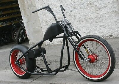 2018 Custom Built Motorcycles Bobber  MMW  OG HOT ROD WISHBONE 200 RIGID BOBBER ROLLING CHASSIS