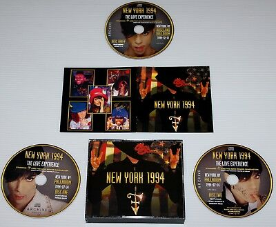 Prince - New York 1994 - 3-Cd Set & Booklet - Love Experience - Archive - Npg