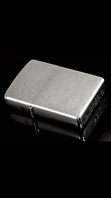"""Zippo """"Brushed Chrome"""" Classic Windproof Lighter"""