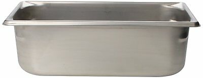 """Vollrath 30342 4"""" Deep Super Pan V Stainless Steel Third-Size Steam Table Pan"""