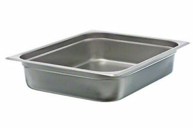 "Update International NJP-502 2-1/2"" Half-Size Anti-Jam Steam Table Pan"