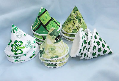 PEE PEE TEEPEES X 3..ST PATRICKS DAY/IRISH/SHAMROCK THEME...  several designs