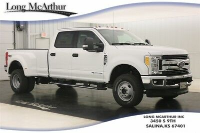 2017 Ford F-350 XLT 4X4 SUPER DUTY CREW CAB 4WD TURBO DIESEL DUALLY MSRP $62665 4WD 4 DOOR SUPER DUTY 5TH WHEEL GOOSENECK HITCH PACKAGE SYNC 3 VOICE SYSTEM