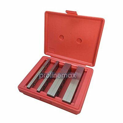 "4 Pair 3/16"" - 1/2'' x 6'' Steel Parallel Set Precision Gage Gauge Block 8 PCS"