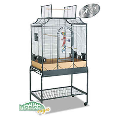 Montana - Cage Madeira II pour Perruches - Anthracite