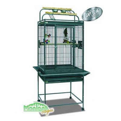 Montana - Cage Finca Play pour Perroquets - Anthracite