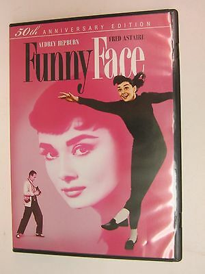 Funny Face (DVD, 1957, 50th Anniversary Edition, Widescreen) Audrey Hepburn