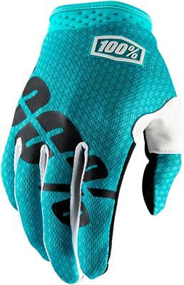 100% Guantes Itrack Teal Sm Talla S