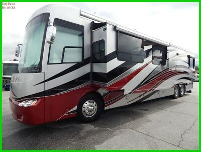 2011 Newmar Essex 4524 Used Class A Coach Diesel Pusher Motorhome Tag Axle Slide