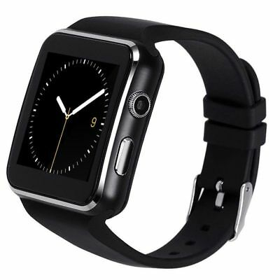Luxus Smartwatch X6 Bluetooth Uhr iOS Android Samsung iPhone SIM Handy Kamera