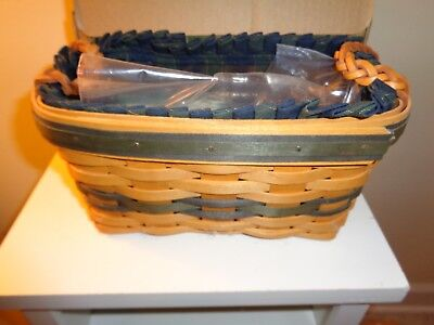 Longaberger 1997 Renewal Basket Combo New In Box Collectors Club