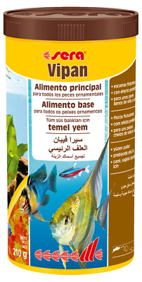 sera Vipan 100 ml 250 ml 1000 ml nourriture poisson fish food aquarium