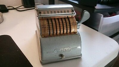 Metrograph Adding Machine with Stylus - For Parts/ Not working
