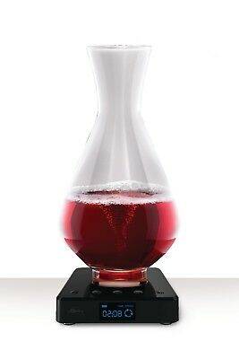 vSpin / Spiegelau Active Decanter Patented Luxury wine aerator - Elegant Crystal