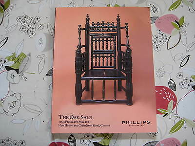 Phillips Catalogue Oak Sale May01