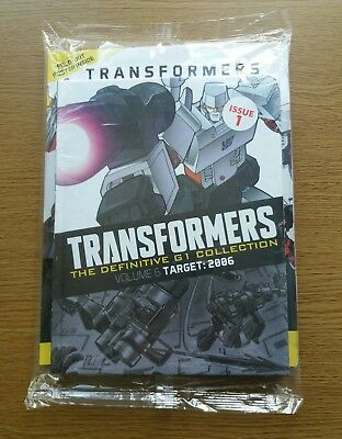 TRANSFORMERS: The Definitive G1 Collection Issue#1: Volume 6 TARGET:2006 NEW
