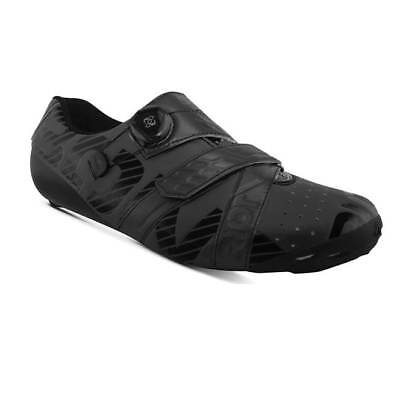 Bont Riot+ Boa Road Bike Cycling Shoes Matte Black/Black 45