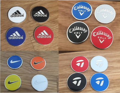 Magnetic ball marker (36 assorted styles/colours)
