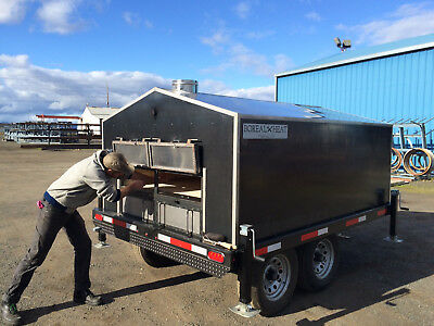 Boreal Heat Mobile Wood-Fired Bread Oven