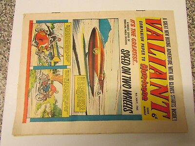 A Vintage - Valiant Comic -9Th May  1964 - Good Readable Condition For Age