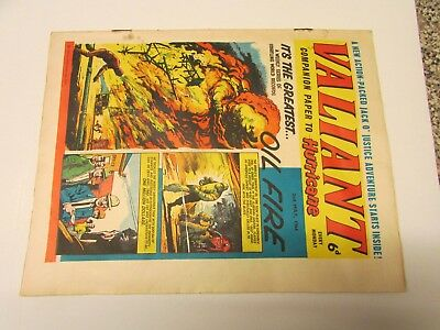 A Vintage - Valiant Comic - 2Nd May 1964 - Good Readable Condition For Age