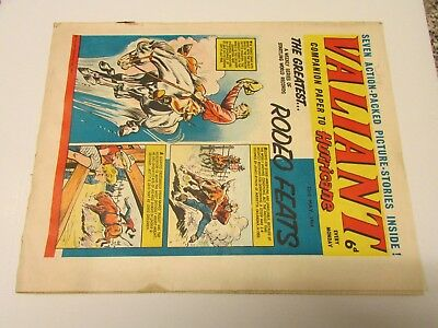 A Vintage - Valiant Comic - 23Rd May 1964 - Good Readable Condition For Age