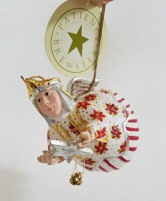 Patience Brewster Celeste Star Fairy ornament Christmas Dept 56