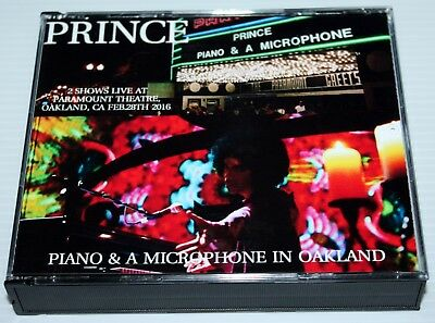 Prince - Piano & A Microphone Tour Oakland - 3 Cd Set - Paramount Theatre - Npg