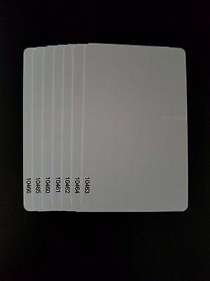 100 Keycards Proximity Prox Card- Works with HID® 1326 1386 26-Bit H10301