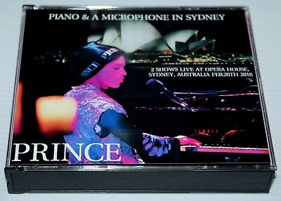 Prince - Piano & A Microphone In Sydney - 3 Cd Set - 2016 Tour - Npg