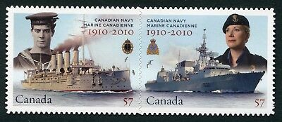 Weeda Canada 2386i VF NH Die cut 2010 Navy Centennial, from Annual Collection