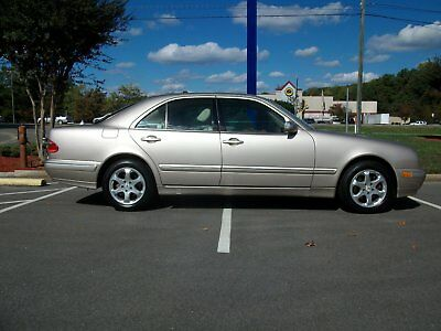 2002 Mercedes-Benz E-Class  Extremely low miles...1 owner