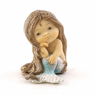 My Fairy Gardens Mini - Little Mermaid with Blue Tail - Supplies Accessories