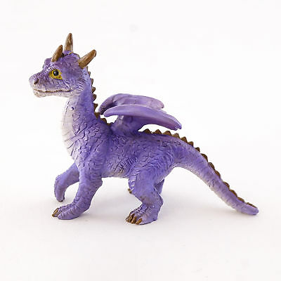 Miniature Dollhouse FAIRY GARDEN - Mini Purple Dragon - Accessories