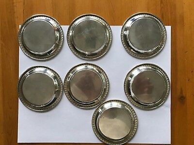 Vintage Sterling Silver Individual Butter Dishes