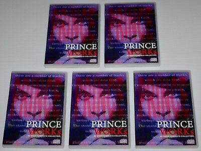 Prince - Works - Vol. 1 To 5 - 20 Disc Complete Collection - 5 Sets - Npg