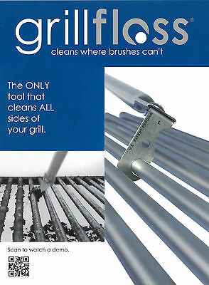 GrillFloss, Grill Floss Ultimate BBQ Cleaning Tool Barbecue Scraper Brush GFLXL