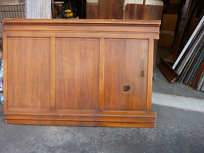 "circa 1930's Maple paneling section 80"" x 86"" high from old cutlery shop"