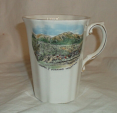 Royal Grafton Bone China Jasper & Pyramid Mountain Coffee Mug Cup England
