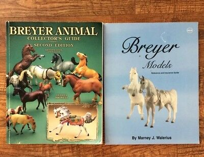 Pair of Breyer Horse Collector's Guide and Reference Books