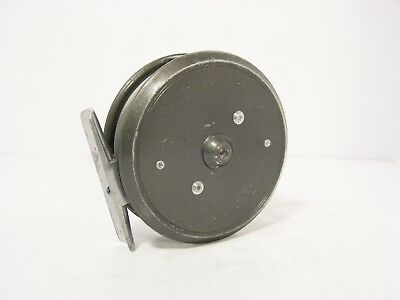 "Vintage Hardy 3 ⅛"" LRH Lightweight Trout Fly Fishing Reel - Solid Drum"